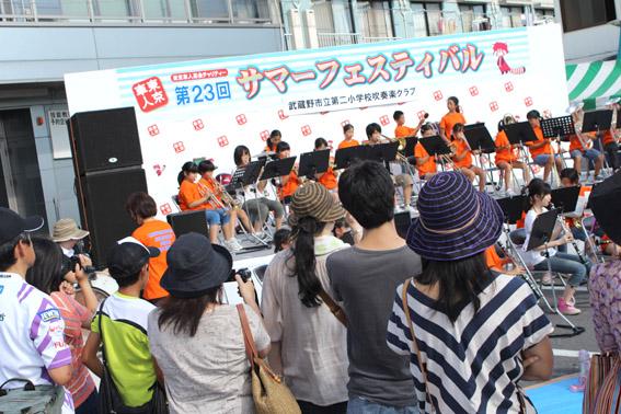 武蔵野市立第二小学校吹奏楽部