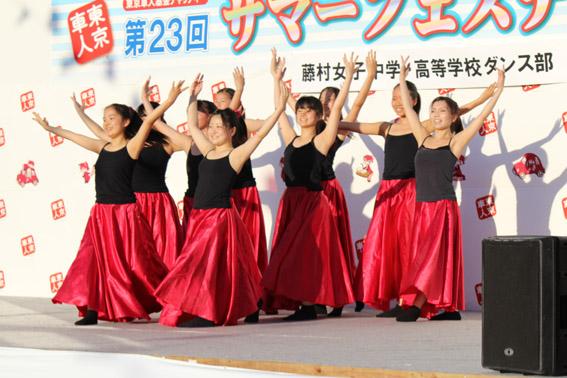 藤村女子中学・高等学校ダンス部の皆さん
