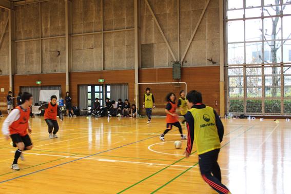 武蔵境自動車教習所 東京武蔵野シティFC フットサル大会