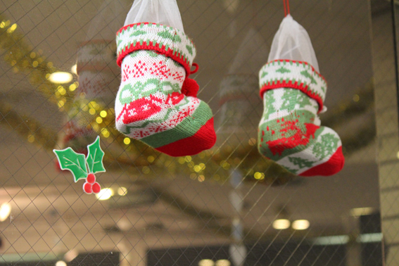 武藏境自動車教習所 クリスマス 装飾