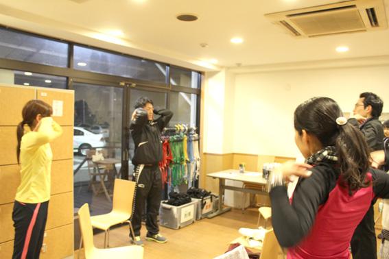 第二回東京車人ナイトラン
