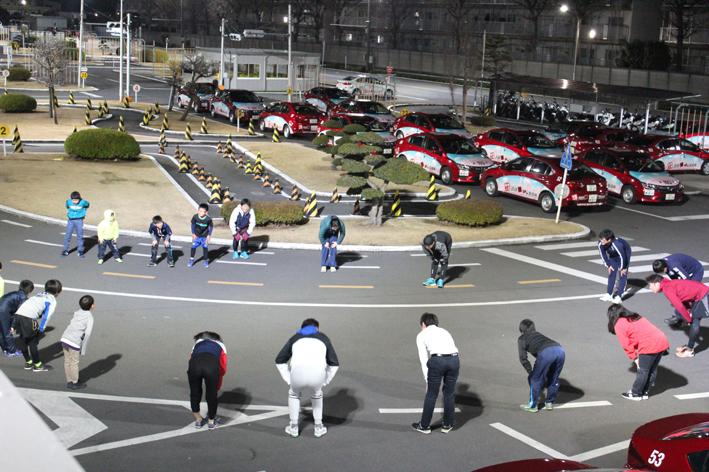 1月19日(日)今年第一回目の 東京車人ナイトラン